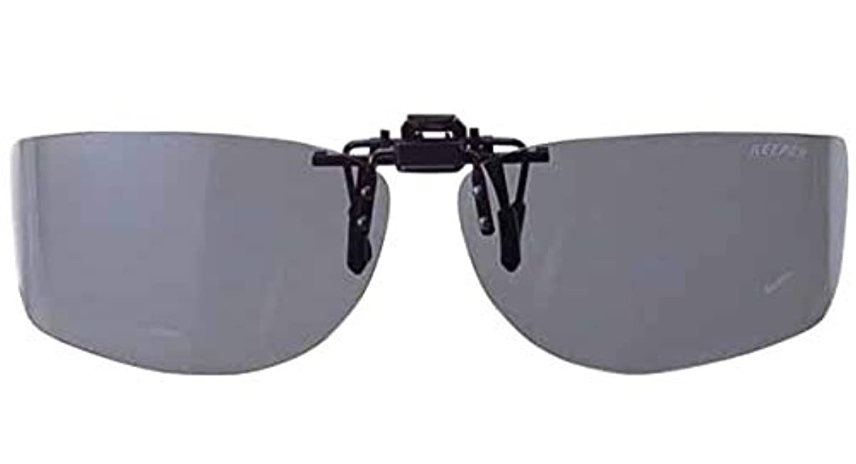 [해외] 메이 건MEIGAN 편광 썬글라스 안경 설치 퍼터입 스모크 라운드 L 클립 온 키퍼 싸이드 커버 9322-02