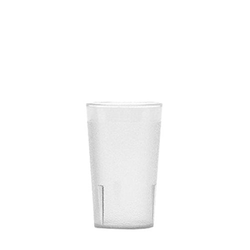 Colorware Clear Plastic Tumbler (Cambro 950P152 Colorware Tumbler, 9.8 Ounce, 4-3/8