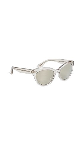 Oliver Peoples Eyewear Women's Roella Sunglasses, Dune/Taupe Flash Mirror, One - Dune Sunglasses
