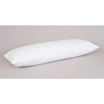 White Goose Feather and Down Body Pillows - 20'' x 60''