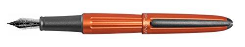 Aeros Instruments - Diplomat AERO Orange, Fountain Pen, fine NIB F