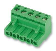 PHOENIX CONTACT 1757048 TERMINAL BLOCK PLUGGABLE, 5POS, 24-12AWG (1 piece)