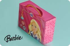 "Hallmark Funzip ""Barbie"" Gift Box"
