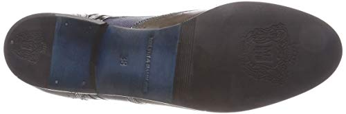 Melvin Multicolore Scotch Femme 30 1 8 Hamilton Patent crust Bottes Fermont Chelsea Grain amp; Little Sally Stone 0qrw0P