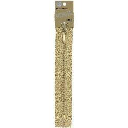 Coats & Clark F5709-9440 Fashion Metallic Closed End Zipper, 9