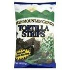 Green Mountain Gringo Organic Blue Corn Tortilla Strip, 8 Ounce - 12 per case.