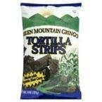 - Green Mountain Gringo Organic Blue Corn Tortilla Strip, 8 Ounce - 12 per case.