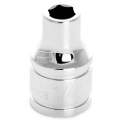 Wilmar (WLMW38008) Chrome Socket, 3/8