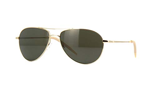 Oliver Peoples  BENEDICT OV1002S - 5035P1 Sunglasses Gold w /G-15 Polarized ()