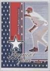 Albert Pujols (Baseball Card) 2002 Fleer Maximum - America's Game - Game-Worn Jersey [Memorabilia] #ALPU