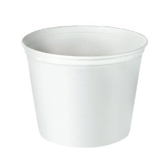 - Solo 10T1-N0198 165 oz Marble Unwaxed Double Wrapped Paper Bucket (Case of 10)