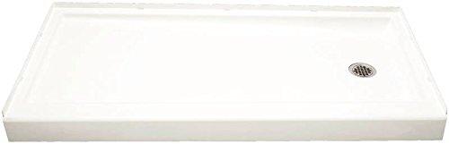 STERLING 72171120-0 60-Inch Shower Base Vikrell Right Drain, White