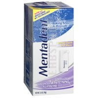 Mentadent Pumps - MENTADENT ADVANCED WHITENING PUMP 3.5oz by CHURCH & DWIGHT COMPANY ***
