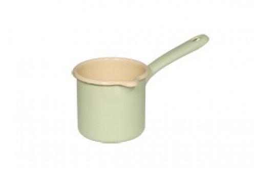 Enamel Pot Milk - Riess 0283-006 Classic - Household Articles Colour/Pastel Milk Pan, Diameter-9 cm Blue