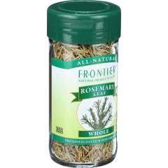 Frontier Herb - Whole Rosemary Leaf (4 - .78 OZ) - Used in Italian and Mediterranean Cooking