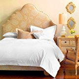 Organic Duvet Cover 350 Thread Count King White [GOTS Certified] - Premium Organic Cotton for Non Toxic and Healthy…