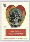 Frankenstein Valentine Stickers (Trading Card) 2013 Topps 75th Anniversary - [Base] - Rainbow Foil #44