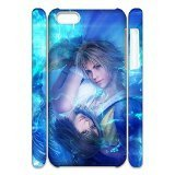 Luke Ong Phones case for Final Fantasy,Customized Hard Case Dragon for Iphone 5,5S(3D).