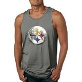PTCY Steeler Design Men's Make Your Own Sleeveless Shirt Funny S (5s Online Halloween)
