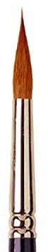 #4 Pure Kolinsky Sable Fine Point Round Artist Brush Series 8408 By Raphael Savoir Faire -