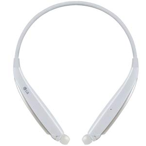 LG HBS-830 Tone Ultra Stereo Bluetooth Headset - White