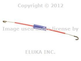 (BMW Genuine Front Interior Inside Door Handle to Lock Bowden Cable LEFT E34 for 525i 530i 535i 540i M5 3.6)