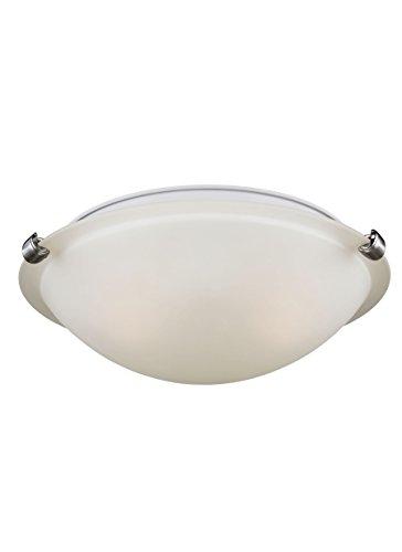 (Sea Gull Lighting 7543502-962 Two Light Ceiling Flush Mount)