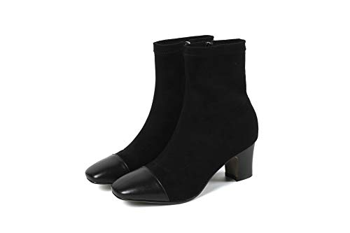 Noir 36 Plateforme Noir Abm12600 Balamasa Femme 5 gnOXOvqwx