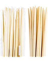 Individually Wrapped 10 Pairs 15 Inches Eco Friendly Bamboo Chopsticks for Cooking and Hot - Bamboo Chopsticks Cooking