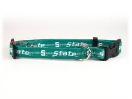 Hunter MFG Michigan State Spartans Dog Collar, Medium