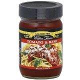 Walden Farms Sauce Pasta Cf Tomato Basil