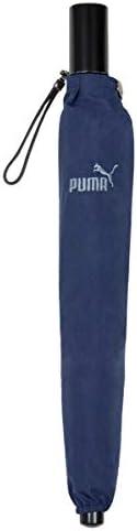 PUMA(プーマ) メンズ 紳士用 ホック式 折りたたみ傘 58cm ネイビー