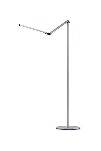 Koncept Gen 3 Z-Bar Warm Light LED Floor Lamp, Silver