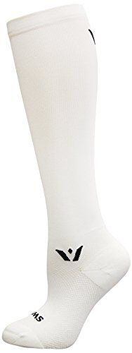 Swiftwick SUSTAIN Twelve Socks, White, Medium