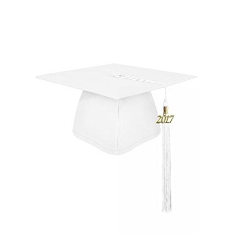 graduation cap white - 2