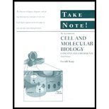 Cell and Molecular Biology, Take Note! : Concepts and Experiments, Karp, Gerald, 0471127752