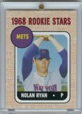 2006 Topps Nolan Ryan Rookie of The Week Baseball Card - Mint Condition- Shipped In Protective Screwdown Case!