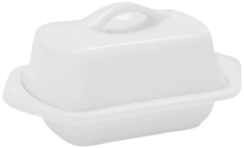 Chantal Mini Butter Dish White