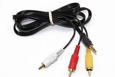 Amazon.com: AV Audio Video Cable Cord For Sony Screen Portable DVD ...