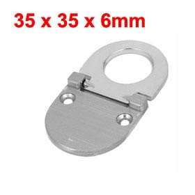 Hot Sale 1Pcs Stainless Steel Concealed Hidden Recessed Grip Pull Handles Silver Tone for Cabinet, Bin, Wardrobe etc