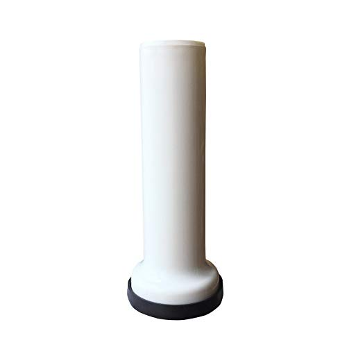 0.375' Slip - Toilet Extension Pipe, Extension Pipe Between Toilet and Macerator, White