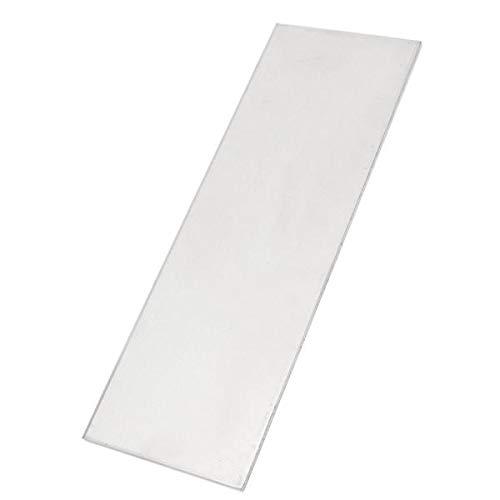 MITUHAKI 300x100x4mm Titanium Sheet Plate Gr.5 Metal Titanium 6al-4v Sheet - 1pc x Titanium Sheet - Mechanical Parts Materials by MITUHAKI