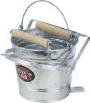 Galvanized Mop Wringer Pail by Behrens Inc