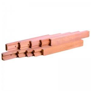 en bois Coulisses de table ouverture centrale synchronis/ée ITAR