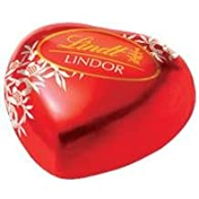 Lindt LINDOR Heart Milk Chocolate Truffles 60 Count Perfect For Any Occasion