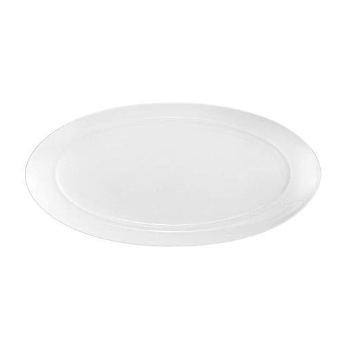 Nambé MT0864 Skye Oval Platter, White