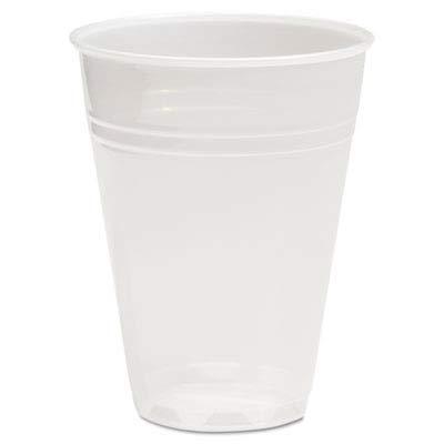 BWKTRANSCUP7CT - Translucent Plastic Cold Cups Boardwalk Translucent Plastic Cups