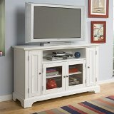 Home Entertainment Furniture Best Deals - Home Styles 5530-10 Naples Entertainment Credenza, White Finish