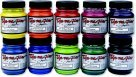 Jacquard Silk Painting - Jacquard Dye-Na-Flow Non-Toxic Specialty Paint Set - 2.25 Oz. Jar44; Set 10