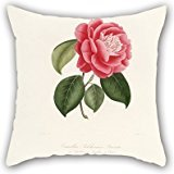 The Flower Throw Cushion Covers Of ,20 X 20 Inches / 50 By 50 Cm Decoration,gift For Play Room,car Seat,bar,wedding,him,teens Boys (both Sides)
